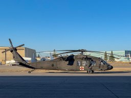 Continue reading: Black Hawk helicopters spotted over Edmonton are part of Exercise Maple Resolve at CFB Wainwright