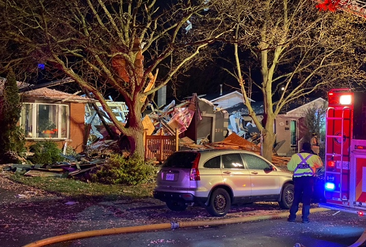 Emergency crews were called to the Bonaventure Drive home at around 10:30 p.m. on Friday.