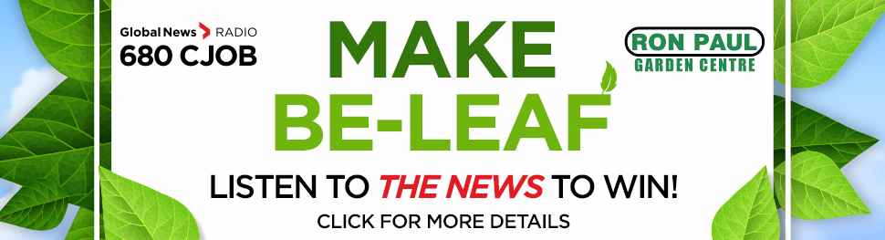 Make Be-Leaf Contest with Ron Paul Gardening Centre!