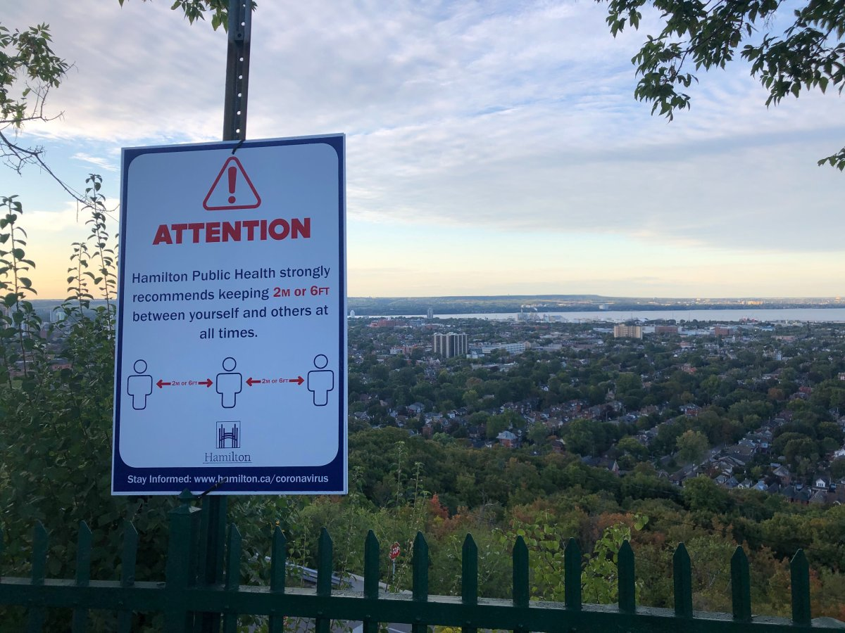 City of Hamilton bylaw officers will be 'proactively' enforcing the escarpment stairs' closure and issuing fines to those who use the stairs for non-essential travel.