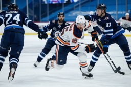 Continue reading: Winnipeg Jets drop fifth straight after 3-1 loss to Oilers