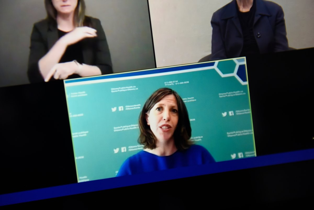 Dr. Vera Etches, Ottawa's chief medical officer of health, said COVID-19 vaccines could protect vulnerable populations enough to remove the need for further lockdowns after the upcoming provincewide shutdown.