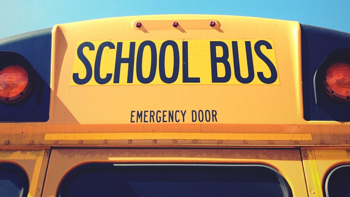 A school bus.