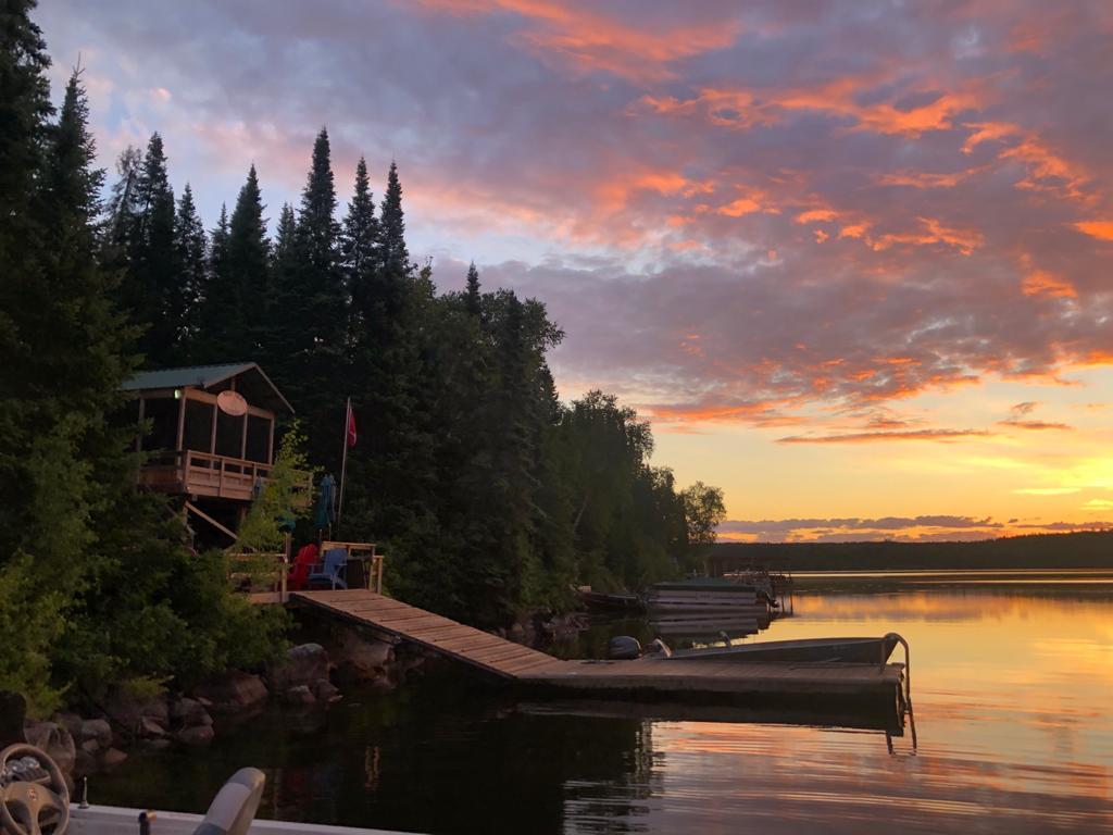 Manitoba residents Candace and Sean Ashtons property on Malachi Lake, Ontario.