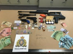 Continue reading: Four arrested following Kelowna, B.C., drug bust, RCMP says investigation continues