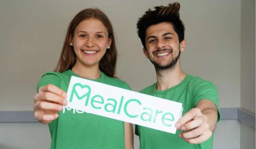 MealCare Guelph co-founders Kiana Gibson and David Sahai.