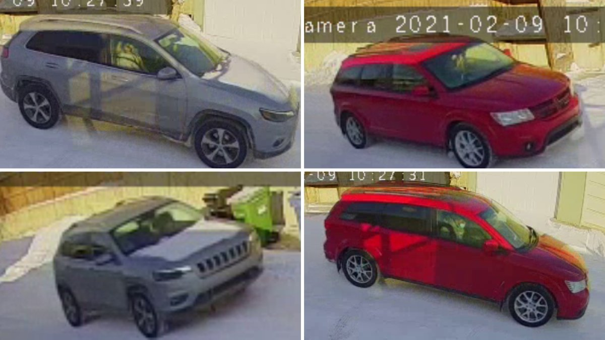 Calgary police have identified two suspect vehicles believed to have fled the scene of a shooting in February.