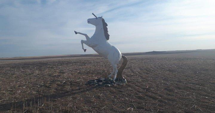 Morgan the missing unicorn has been found: Alberta RCMP