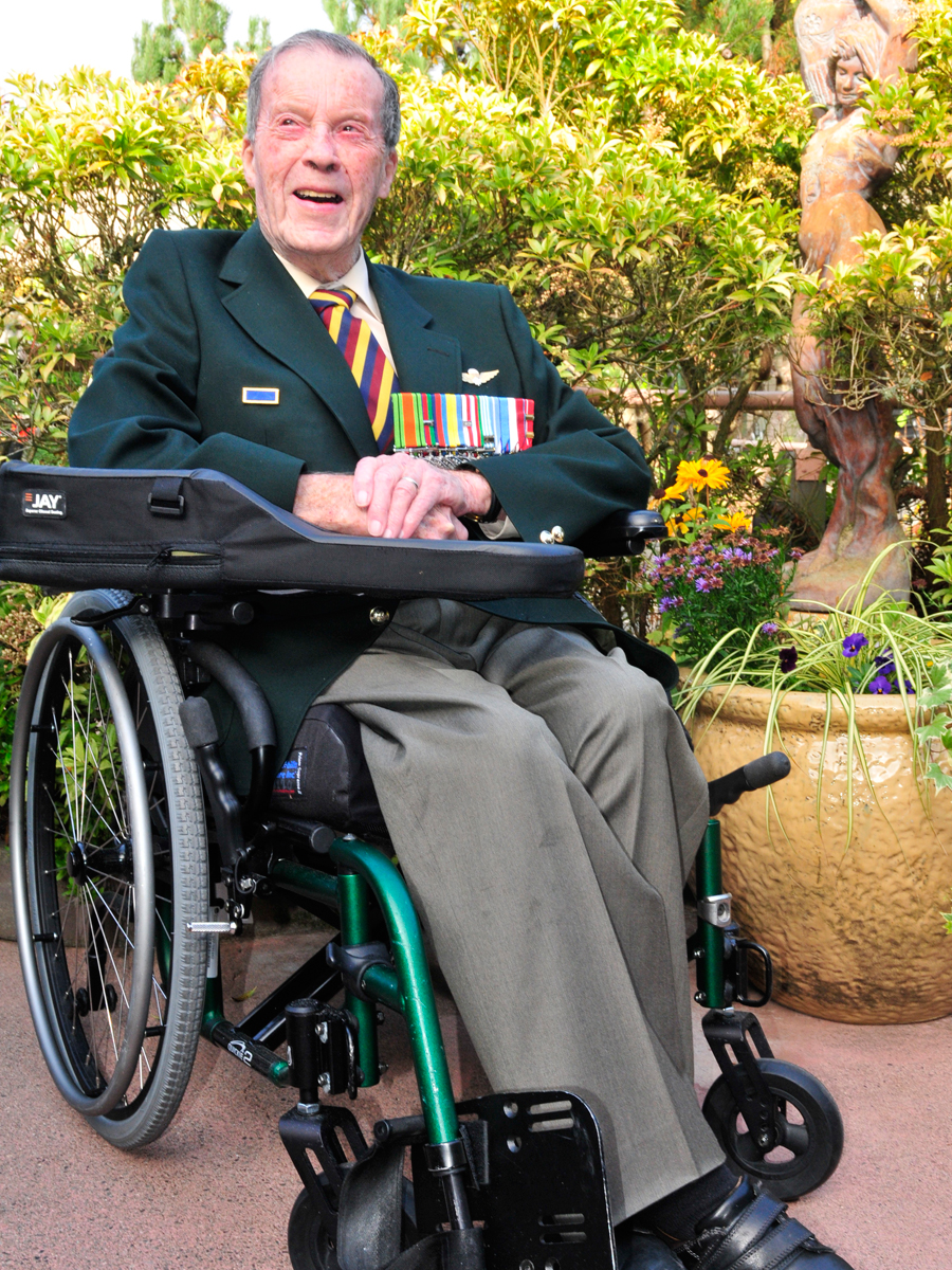 Retired Major Murray Edwards
