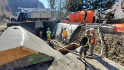 Continue reading: Permanent irrigation water pipes on way near Oliver, B.C., 5 years after rockslide destroyed system