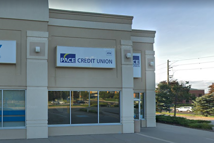 A photo of PACE credit union in Mississauga.