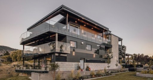 Realtors Kevin Chen and Matt Zhang listed this $12.8 million luxury home in Penticton, B.C.