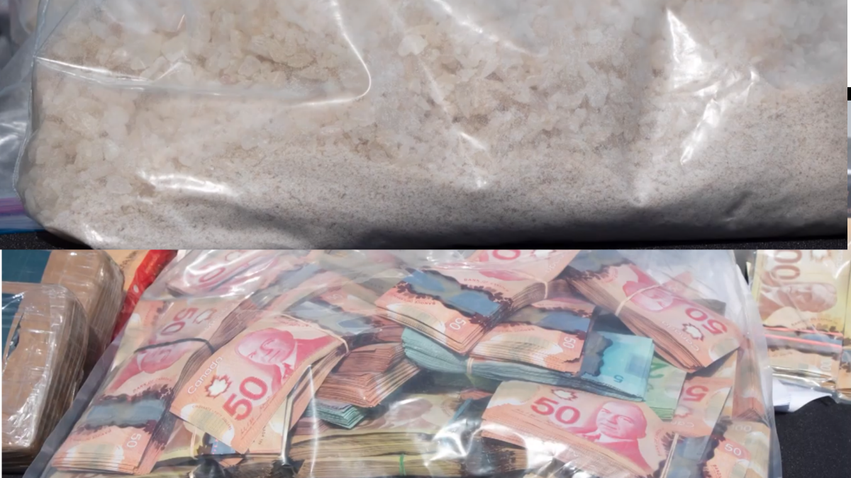 Halton police says a seven-month-long drug trafficking investigation targeted a sophisticated drug network involved in trafficking, importing and money laundering.