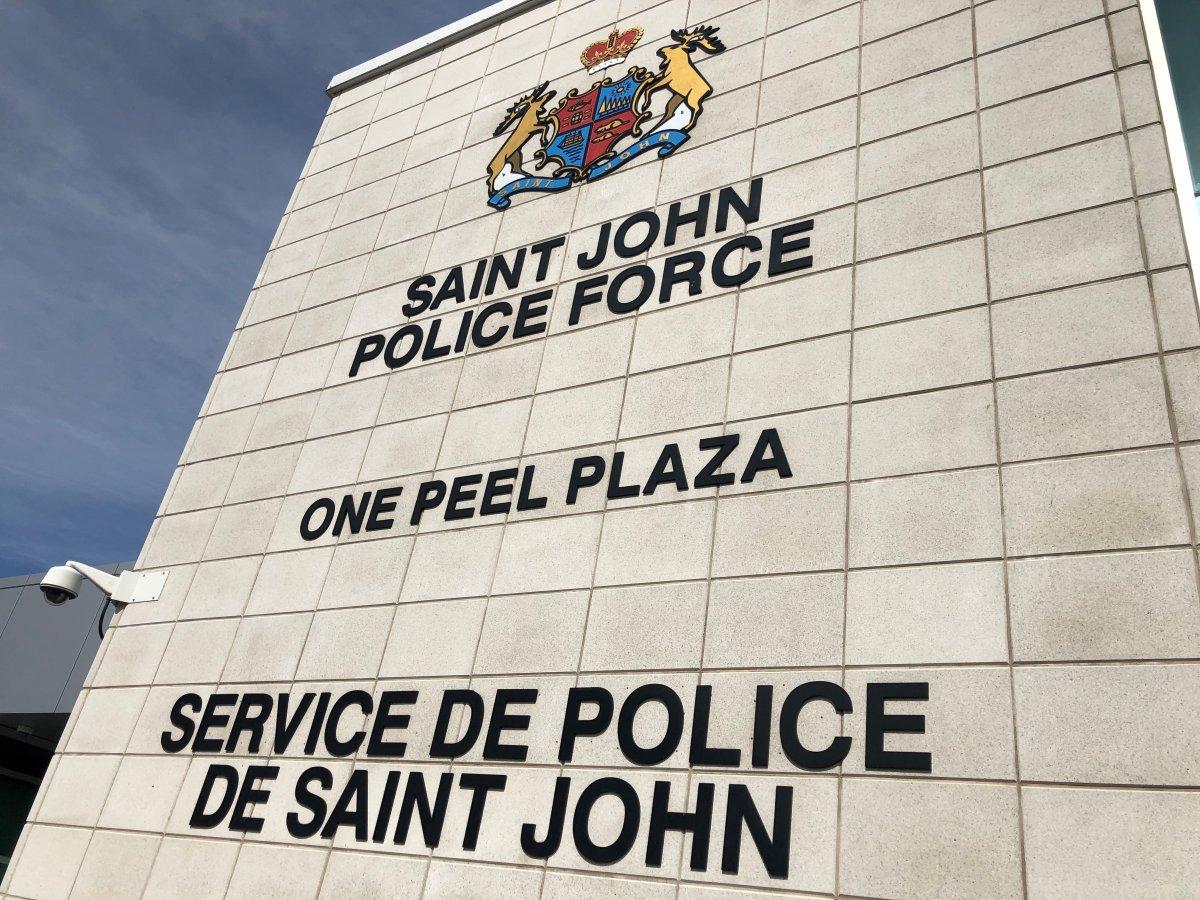 Saint John Police Force Headquarters in Saint John, N.B.