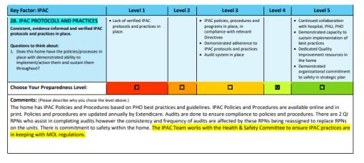 Tendercare preparedness assessment document. (Ontario Health)