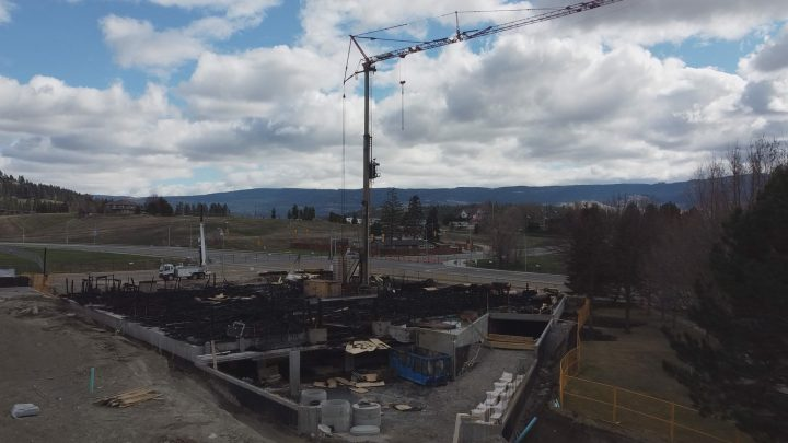 The Wyndham Crescent construction crane's structural integrity still remains unknown.