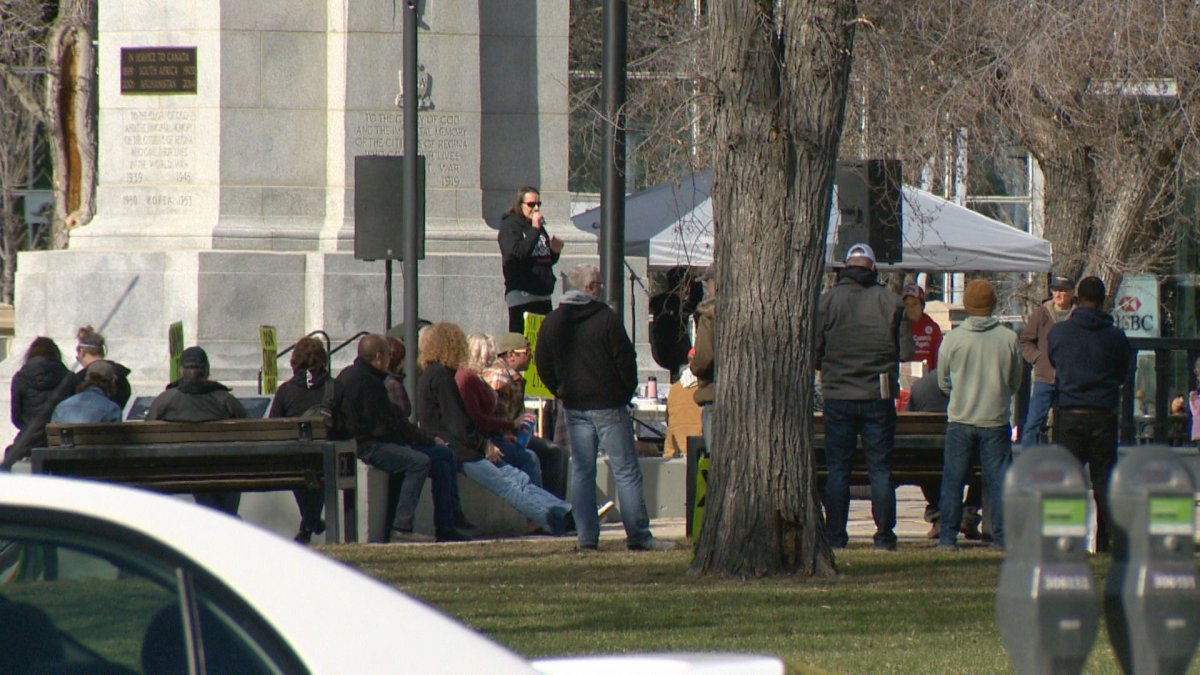 Police have issued more tickets under the Saskatchewan Public Health Act for disobeying the public health orders at a protest in Regina.