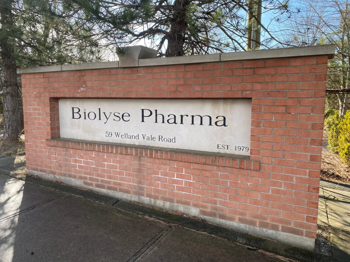 Biolyse Pharma in St. Catharines, Ont., is hoping to obtain a compulsory licence.