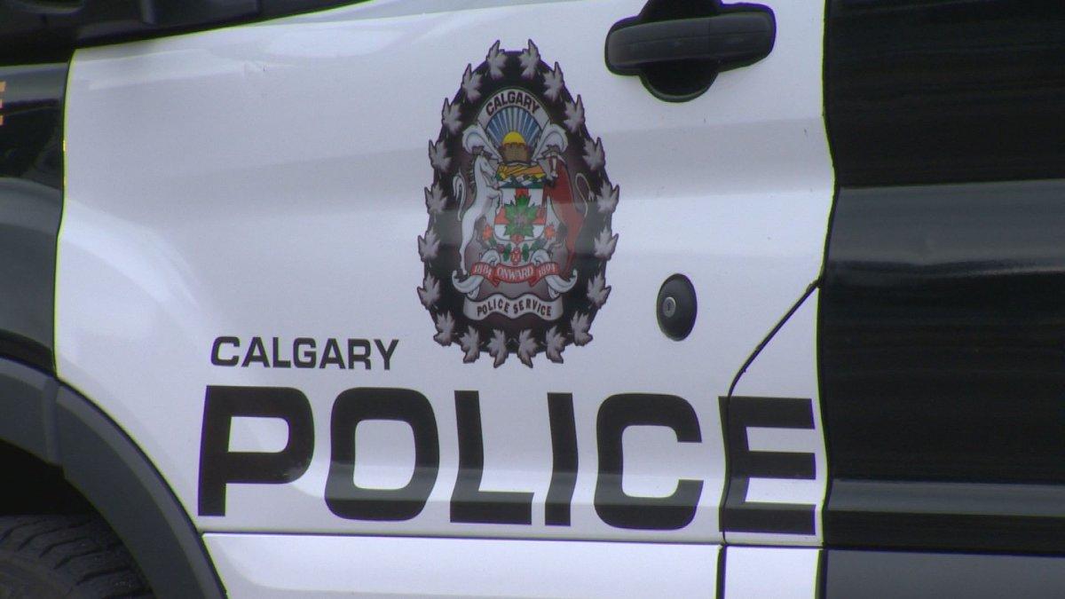 Calgary police car.