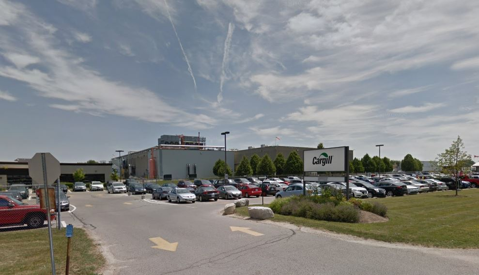 Cargill halted production at its London facility last week after dozens of employees tested positive for the virus.