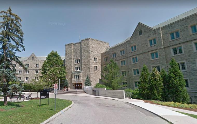 Western University's Delaware Hall residence.