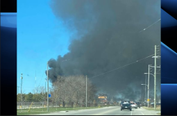 Continue reading: London, Ont., fire crews fights blaze at east-end recycling centre
