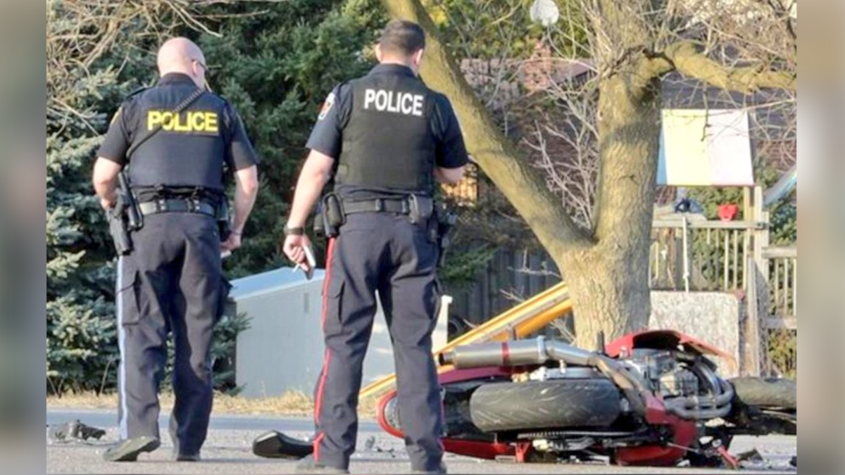 A motorcycle rider suffered serious injuries after a crash on Highway 6 near Freelton, Ont., on Wednesday April 7, 2020, according to OPP.