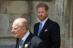 Continue reading: Prince Harry mourns 'my grandpa' Prince Philip after return to the U.K.