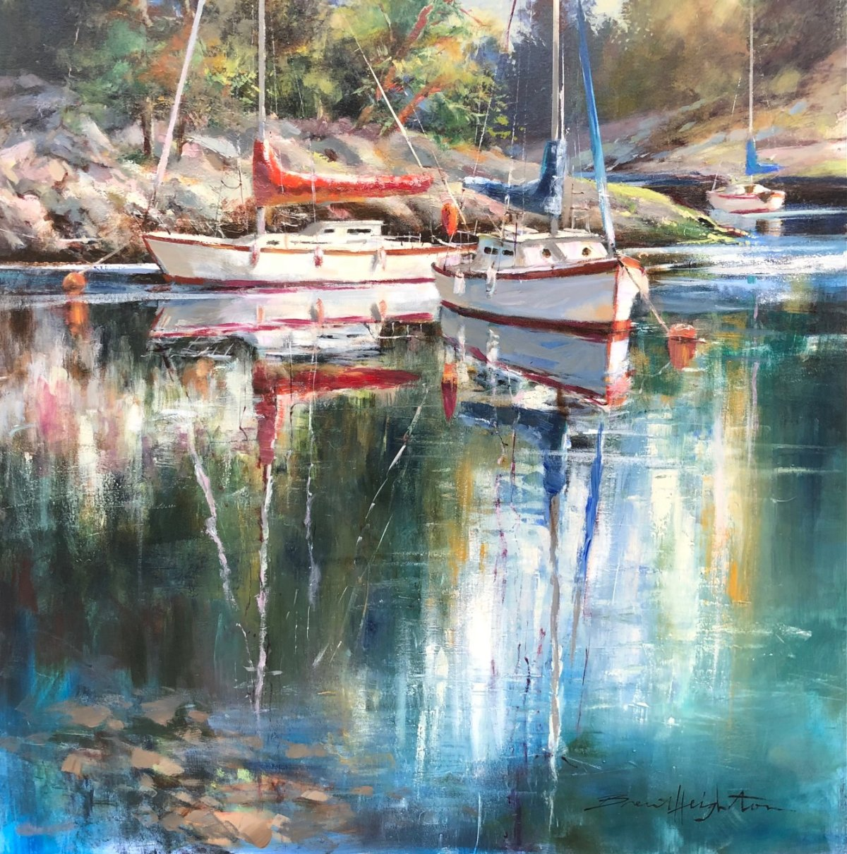 "Gallery 421 Welcomes You to our Spring Solo Exhibit Series. New collections are posted on first Friday at www.gallery421.ca. For appointments call (250) 448-8888. ""Transported"" Solo Exhibit with Brent Heighton April 9 Friday 6 - 8pm by appointment April 10 Saturday 1 - 3:30pm drop-in ""A Love for Painting"" with Guest Artist CJ Campbell April 30 Friday 6 - 8pm by appointment May 1 Saturday 1 - 3:30pm drop-in ""Joy"" Solo Exhibit with Angela Morgan June 11 Friday 6 - 8pm by appointment June 12 Saturday 1 - 3:30pm drop-in ""Elegance"" Solo Exhibit with Debra Martin June 18 Friday 6 - 8pm by appointment June 19 Saturday 1 - 3:30pm drop-in ""50 Years Retrospective"" Solo Exhibit with Jonn Einerssen June 25 Friday 6 - 8pm by appointment June 26 Saturday 1 - 3:30pm drop-in."