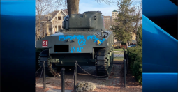 Continue reading: Graffiti on London, Ont., historic tank cleaned up following reported vandalism: police
