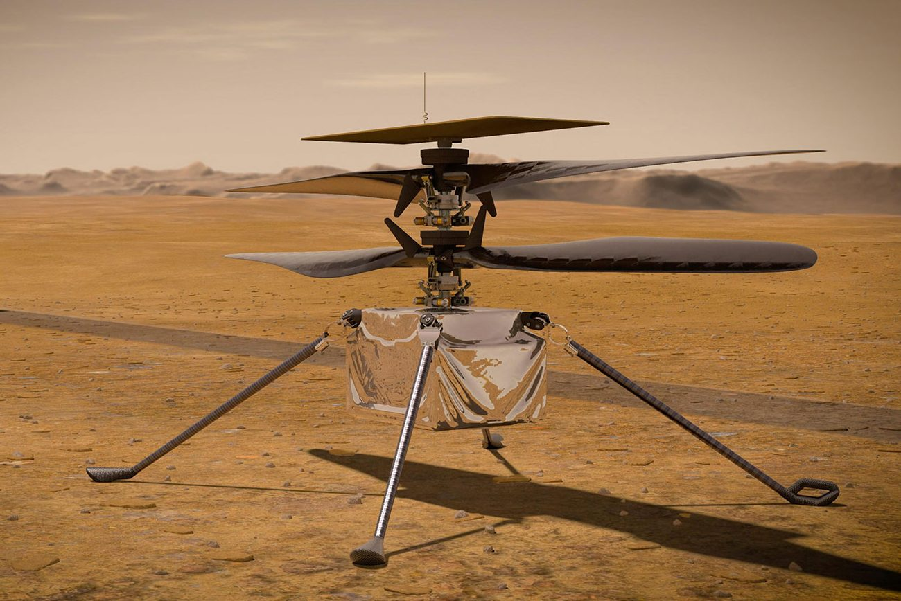 NASA successfully flies the first-ever helicopter on Mars