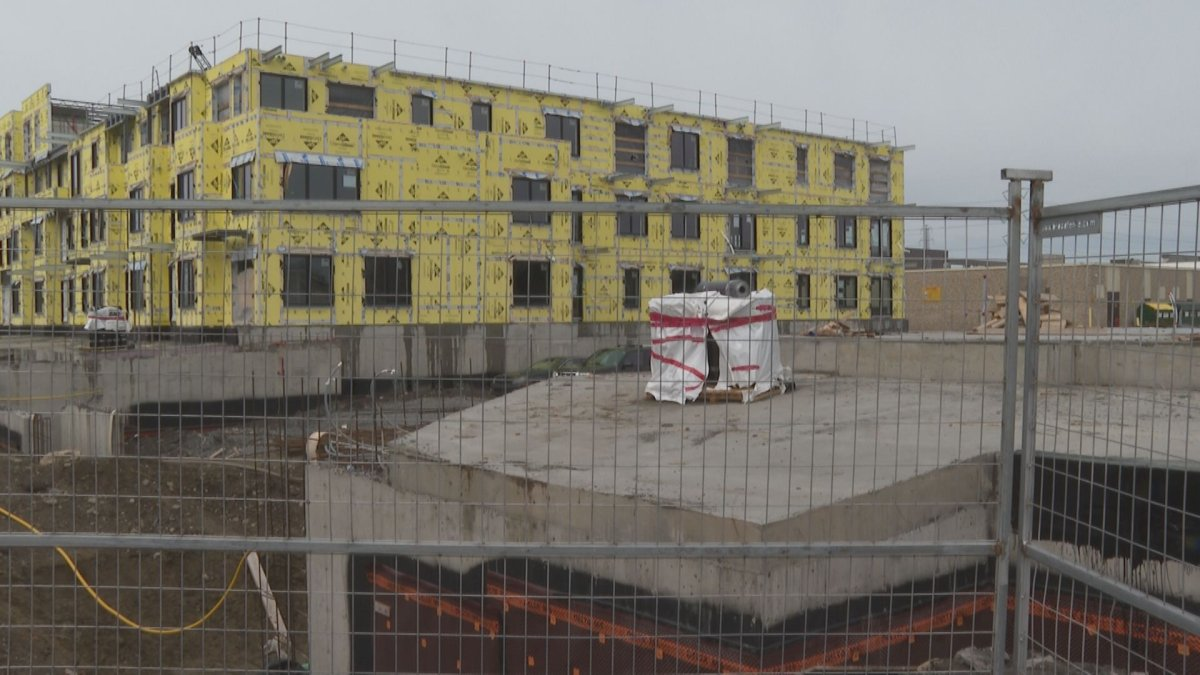 Construction on the Celeste housing project in LaSalle is expected to ramp up this summer. Thursday, April 1, 2021.