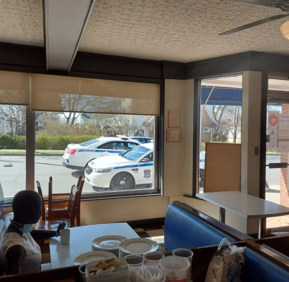 Halifax Regional Police responded to a call about someone violating public health rules at a local restaurant, but it turned out to be a mannequin.