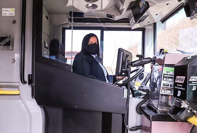 OC Transpo is installing permanent barriers to protect drivers amid the COVID-19 pandemic.