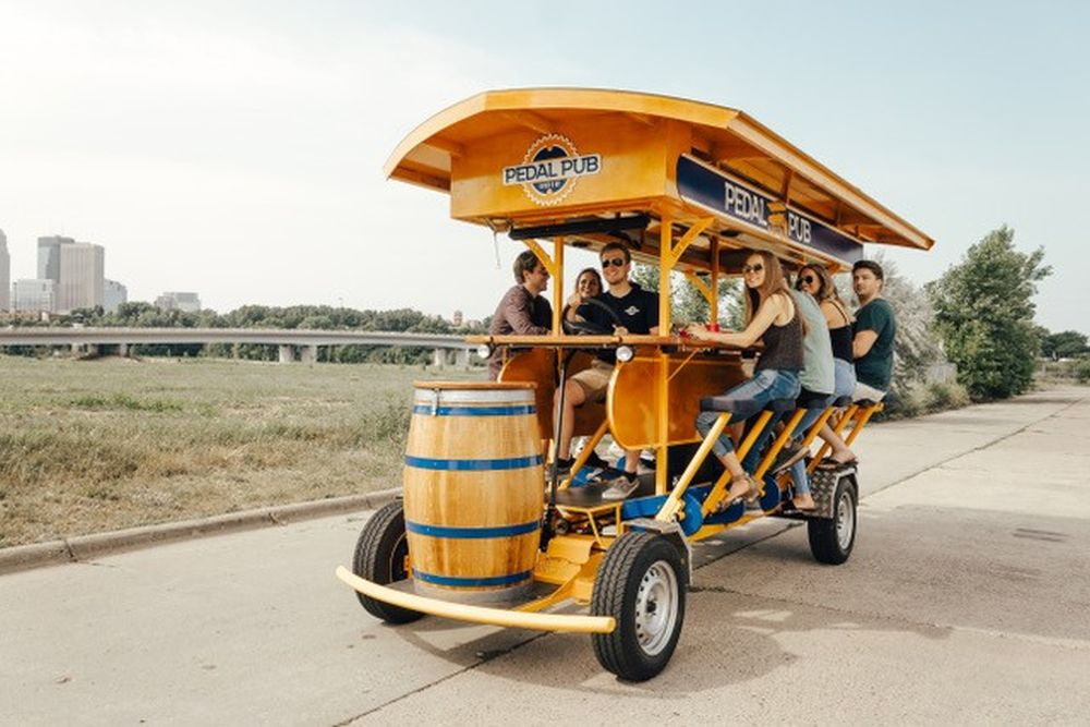 The first Pedal Pub in Saskatoon is planning to take its first ride in June.