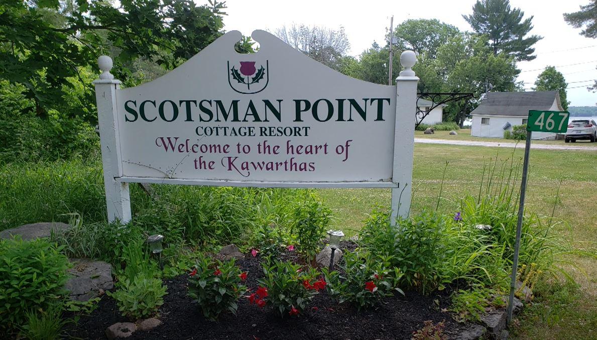 Scotsman Point Cottage Resort near Buckhorn, Ont.