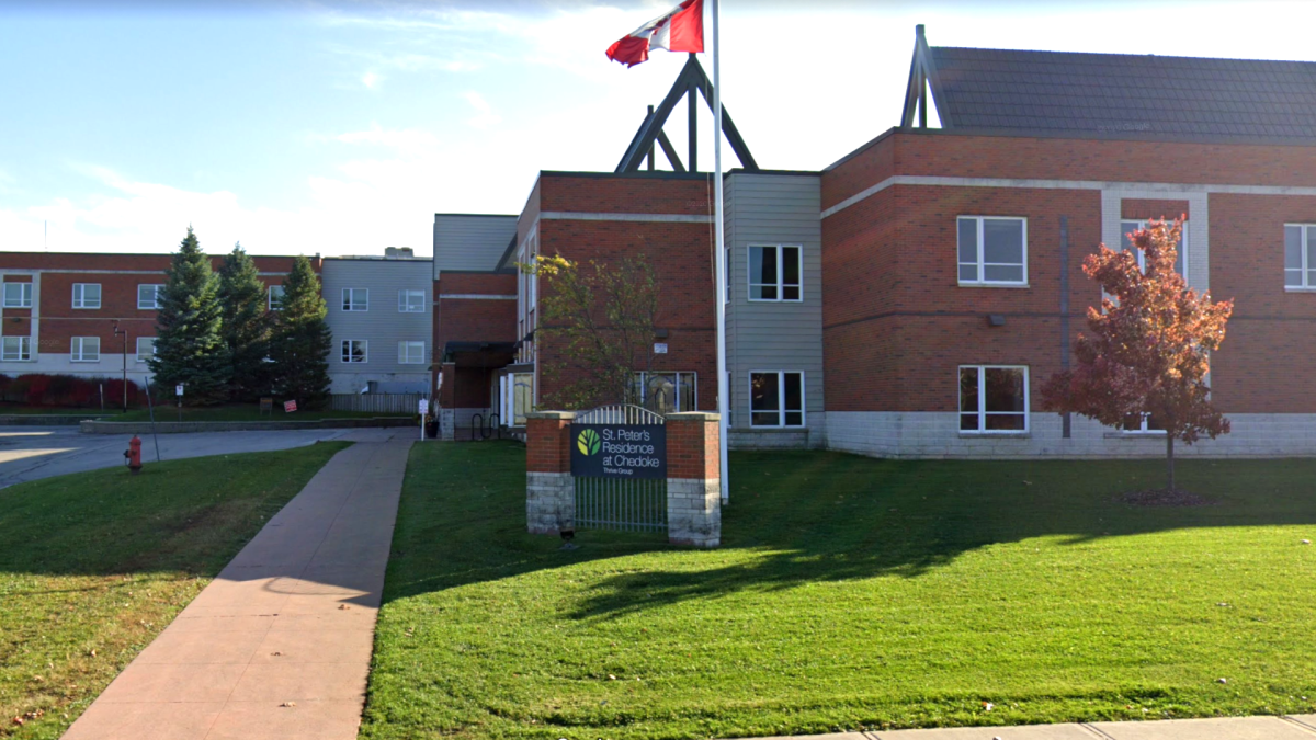 St. Peter's Residence at Chedoke is one of three Hamilton-area long-term care homes receiving joint government funding for upgrades.
