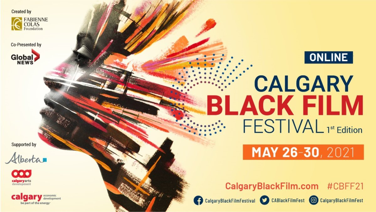 Calgary Black Film Festival, supported by Global Calgary & 770 CHQR - image