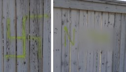 Continue reading: Calgary police investigate hate crime after swastikas, N-word spray-painted on pathway, fences
