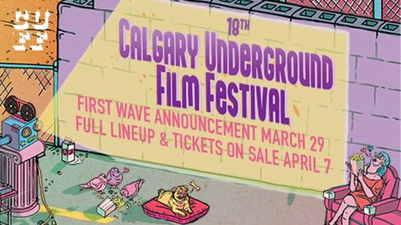 18th Calgary Underground Film Festival - image