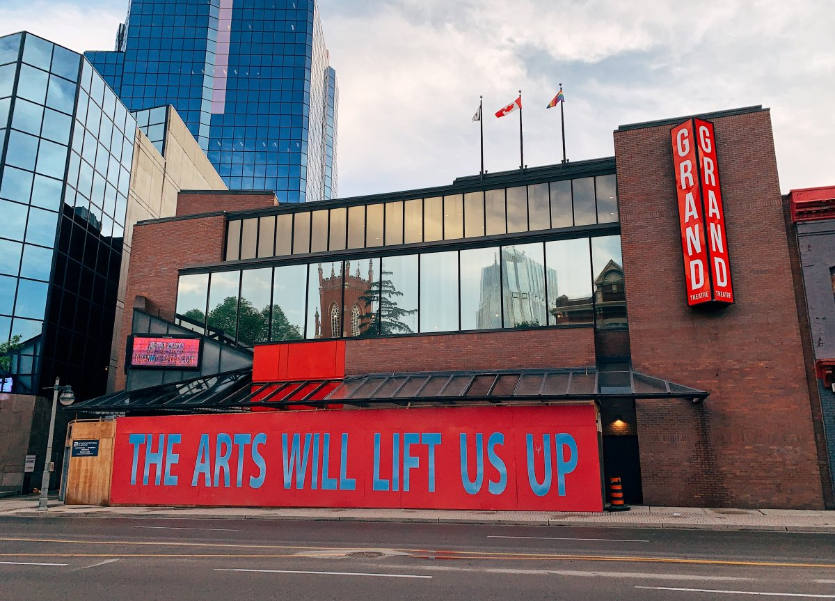 The Grand Theatre in London, Ont., on May 26, 2021.