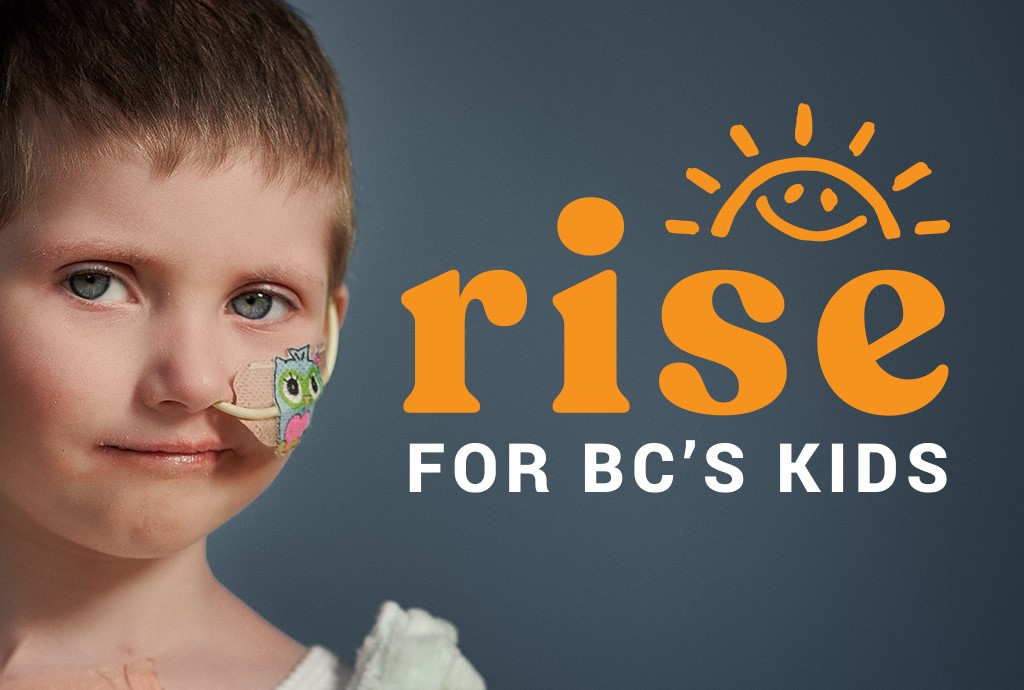 Rise for BC's Kids on June 12 from 7 to 11 p.m.