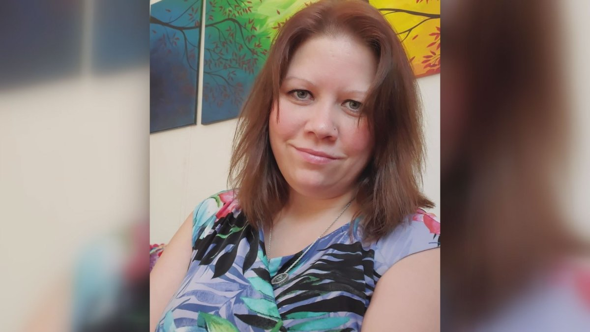 Amy Rennie, 37, of Oakland, N.B., was admitted to hospital earlier this week. She called an ambulance for herself because she was experiencing suicidal thoughts and didn't feel safe alone.