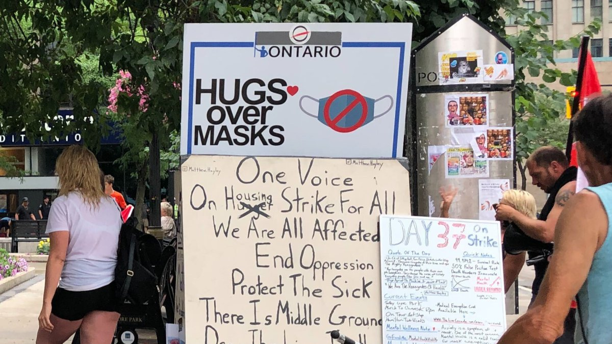 Police lay charges in Hamilton, St. Catharines in connection with COVID-19 protests - image
