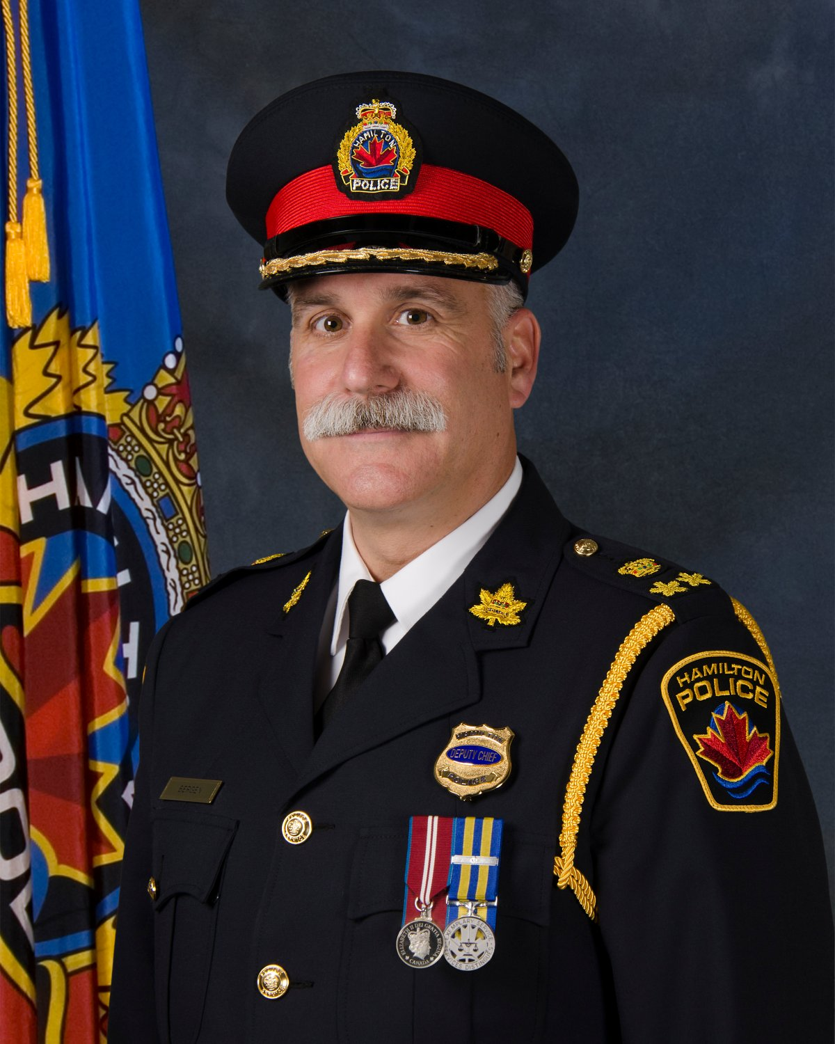 Frank Bergen, deputy chief since 2018, has been named Hamilton's 36th police chief.
