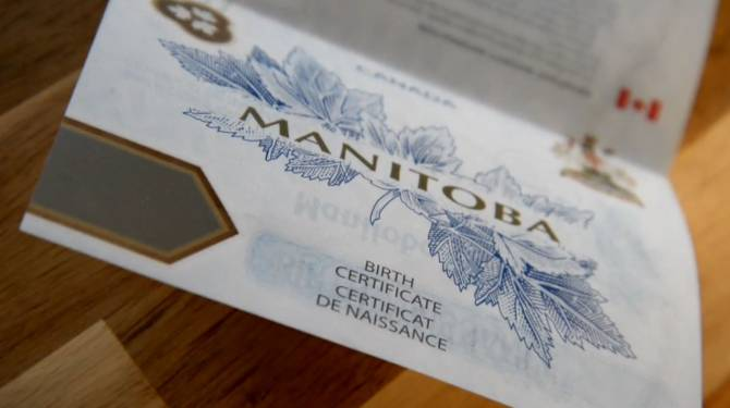 Manitoba birth certificate backlogs have mother living 'parent's worst nightmare' - image