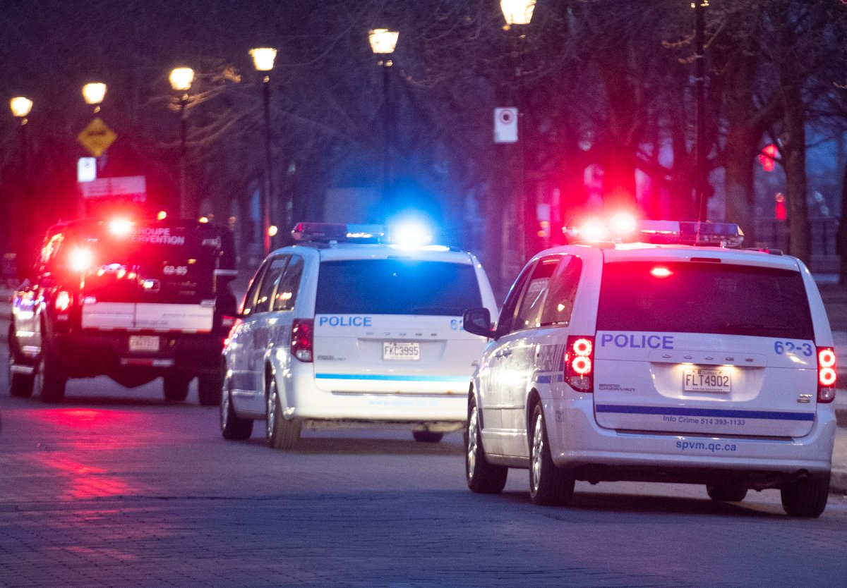 Montreal police said officers monitored crowds gathered at the city's Old Port and at most major parks, but said all was peaceful throughout the evening.