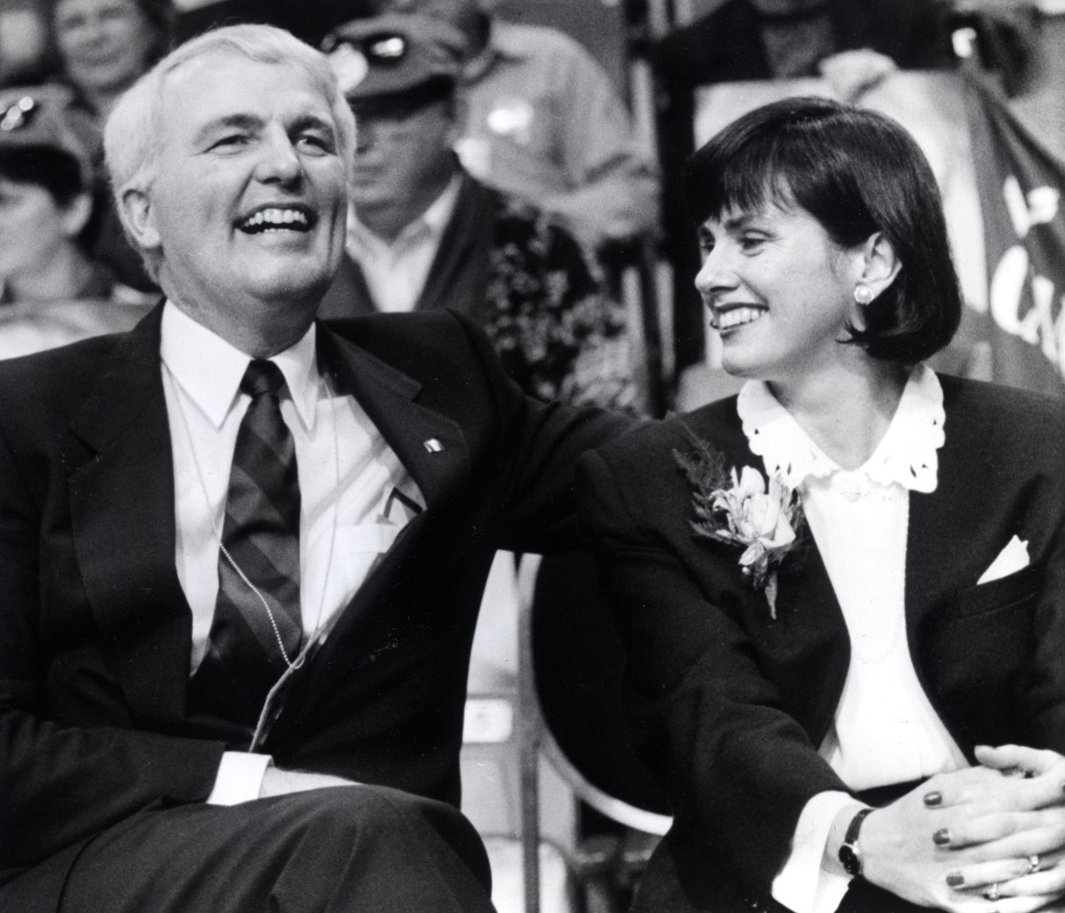 Dec 27, 1991 - Since he was elected leader of the Nova Scotia conservative party last February Premier Donald Cameron (shown with his wife Rosemary) has been preaching reform.