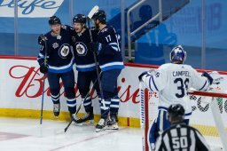 Continue reading: Winnipeg Jets end regular season on high note, beating Maple Leafs 4-2
