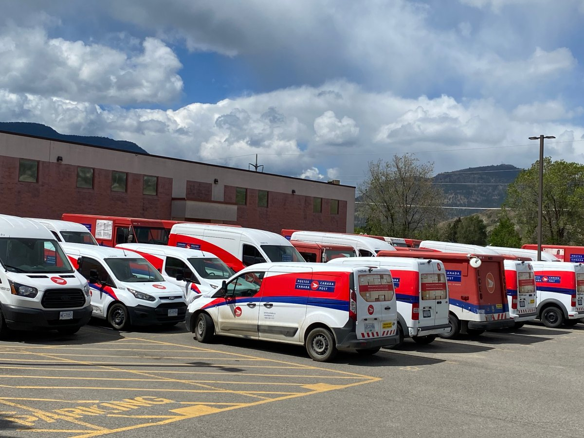 Canada Post says its Okanagan Delivery Centre on Baillie Ave., in Kelowna, was closed on Tuesday for sanitization, and that service and delivery is expected to resume Wednesday.